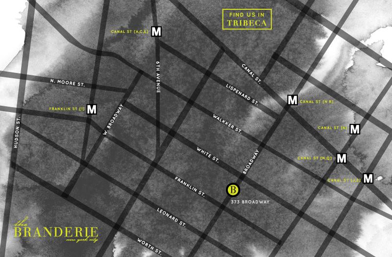 Branderie Map